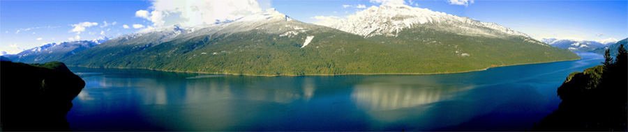 Slocan Lake Panoramic| photo: Hugh Wilson
