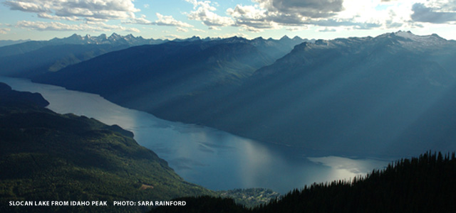 Slocan Lake | photo: Sara Rainford - rainfoto.com